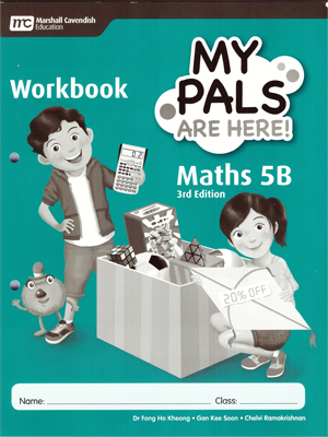 My Pals are Here ! Maths Workbook 5B (3E)