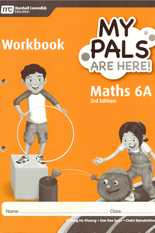My Pals are Here ! Maths Workbook Book 6A (3E)