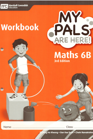 My Pals are Here ! Maths Workbook Book 6B (3E)