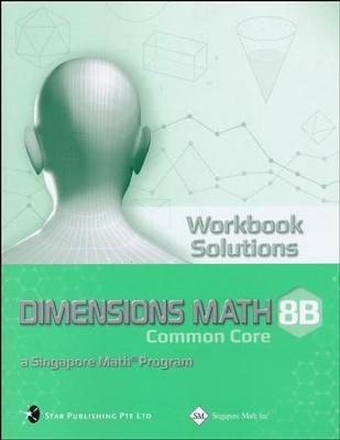 Dimensions Mathematics Common Core Workbook 8B