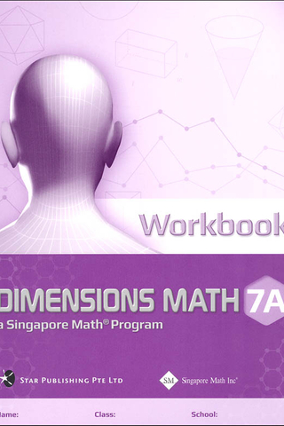 Dimensions Mathematics Common Core Workbook 7A