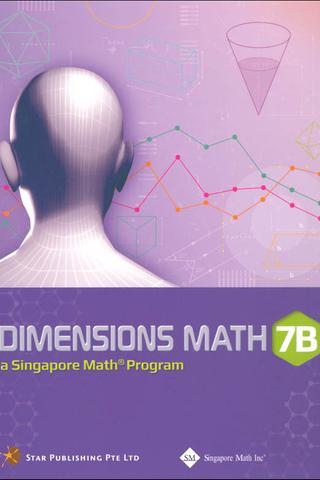 Dimensions Mathematics Common Core Textbook 7B