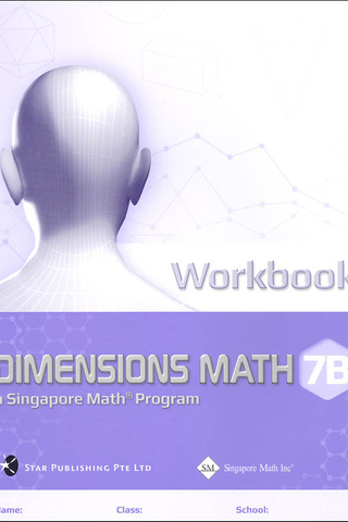 Dimensions Mathematics Common Core Workbook 7B