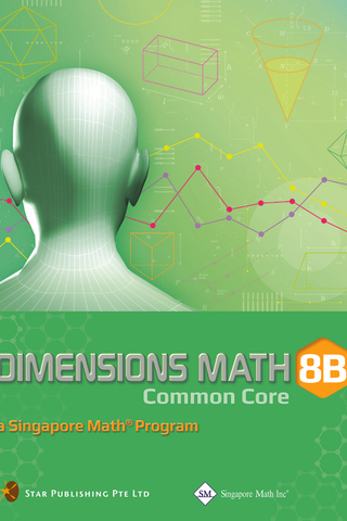 Dimensions Mathematics Common Core Textbook 8B