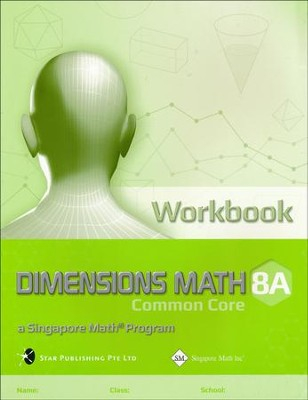 Dimensions Mathematics Common Core Workbook 8A