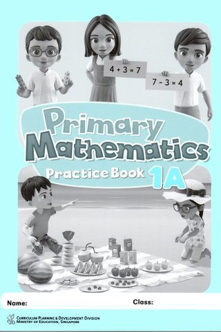 Primary Mathematics Practice Book 1A