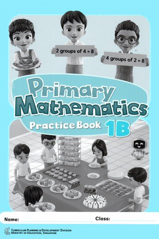 Primary Mathematics Practice Book 1B
