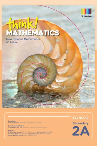 Think! Mathematics Secondary Textbook 2A (8th Ed)