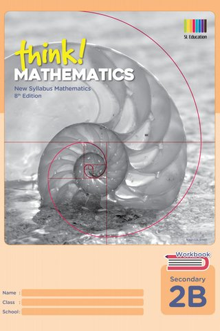 Think! Mathematics Secondary Workbook 2B (8th Ed)