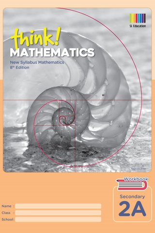 Think! Mathematics Secondary Workbook 2A (8th Ed)
