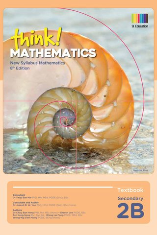 Think! Mathematics Secondary Textbook 2B (8th Ed)